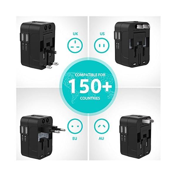 Adattatore-Universale-da-Viaggio-LENCENT-All-in-One-Caricatore-Adattatore-di-Alimentazione-Internazionali-con-Doppia-Porta-Caricabatterie-USB-per-USA-UK-Americane-oltre-150-i-Paesi-nel-Mondo