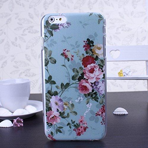 Hard Case Series Petit Papillon Fleurs fraîches en plastique pour iPhone 6S 6 ( Color : 13 , Size : IPhone 6S 6 ) 7