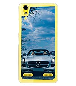 Luxury Car 2D Hard Polycarbonate Designer Back Case Cover for Lenovo A6000 Plus :: Lenovo A6000+ :: Lenovo A6000