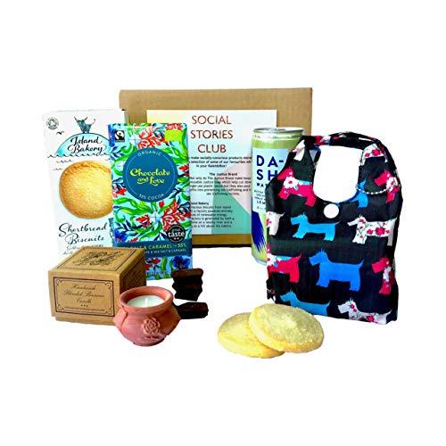 Mother's Day Ethical Gift Box (Small) Ethical Gift idea, for a Purpose. Socially-Conscious Hamper, Social Enterprise, Environmentally-Friendly Gift