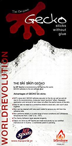 MP GECKO Tourenfelle/Haftfelle Adhaesions – klebt ohne Kleber Fell Ski Snowboard Breite 100 110 120 130 140 Steigfelle Tourenski - 4