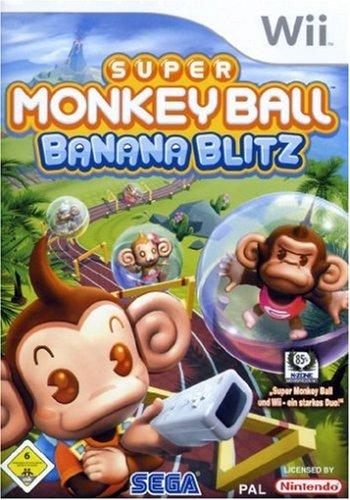 Super Monkey Ball - Banana Blitz (Wii Blitz Banana)