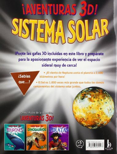 SISTEMA SOLAR. AVENTURAS 3D!: INCLUYE GAFAS 3-D (VOLUMENES SINGULARES)