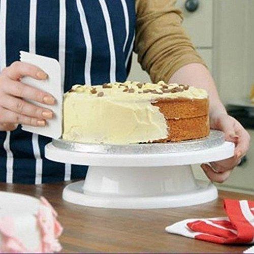 Kuchendekorationswerkzeuge, Drechent-Kuchenständer Turntable Dekorating Stand Platform Cupcake Stand-Tischwerkzeug 1pcs - Revolving-cupcake