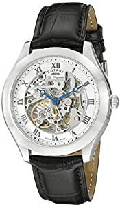 Rotary Gent's Les Originales Leather Strap Watch - GS90508-02