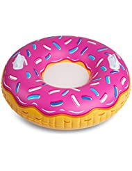 Bigmouth Inc BMT-BMST PD Sledge Inflatable Donut Strawberry, mehrfarbig