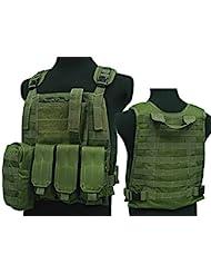 Tactical C2MPS SAPI combate chaleco revista bolsa Airsoft painitball od