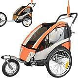Children Bicycle Trailer & Jogging Stroller Combo...