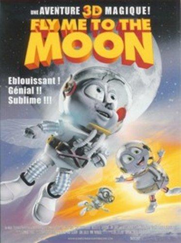 Preisvergleich Produktbild Fly Me To The Moon -3D - Inclus 2 Paires de Lunettes 3D [Import belge]