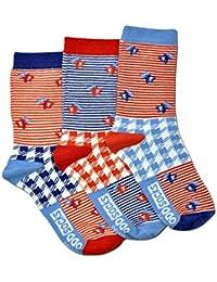 Die verrückten Picknick Socken für Mädchen im 3er Set