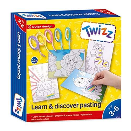 Twizz 67005 Descubre y aprende Pegatinas, Multicolor