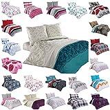 BUYMAX Bettwäsche Bettgarnitur Bettbezug Deckenbezug 2-3 teilig mit Reißverschluss Baumwolle OEKO-TEX® (200x220 cm, Design 13)