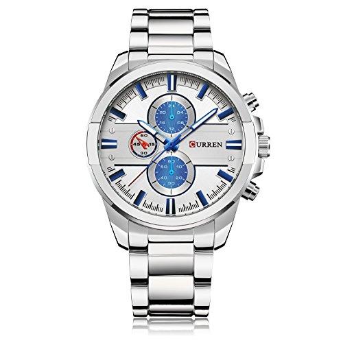 Ying xinguang Herren Wasserdicht Armbanduhr Business Casual Armbanduhr Mode, 1