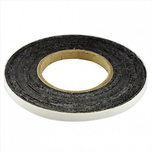 12,5m Komprimierband Acryl 300 10/2, Bandbreite 10mm, expandiert von 2 auf 10mm, anthrazit, Fugendichtband Kompriband Fugenabdichtung Dichtungsband Fensterdichtband Quellband Fugendichtband