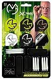 """XQ Max Darts - Set Unisex di Accessori per Freccette """"Michael Van Gerwen"""", Confezione da 84 Pezzi, Multicolore"""