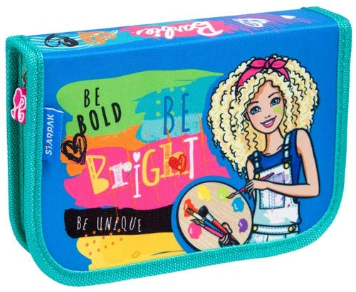 Barbie 372650–astuccio completo di portafoglio 21x 13x 4cm