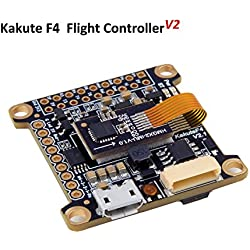 Kakute F4 Controladora De Vuelo ( V2 ) Integrado Betaflight OSD , BEC Flight Controller ( 120A Maximum Continuous Current , Input voltage 7v-42v ) for PFV Racing RC Drone Quadcopter by LITEBEE