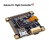 Kakute F4 Flight Controller ( V2 ) OSD Integrated Betaflight OSD , BEC ( ICM20689 with 6-axis gyro , 120A Continuous Current , Input Voltage 7v-42v ) for PFV Racing RC Drone Quadcopter by LITEBEE