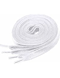 Coloured Flat Waxed Cotton Shoelaces 6mm wide x 90cm, 120cm, 150cm & 180cm Unisex Laces for Mens Shoes Leather Oxford Brogues also for Fashion Sports Trainers & Skating Boots