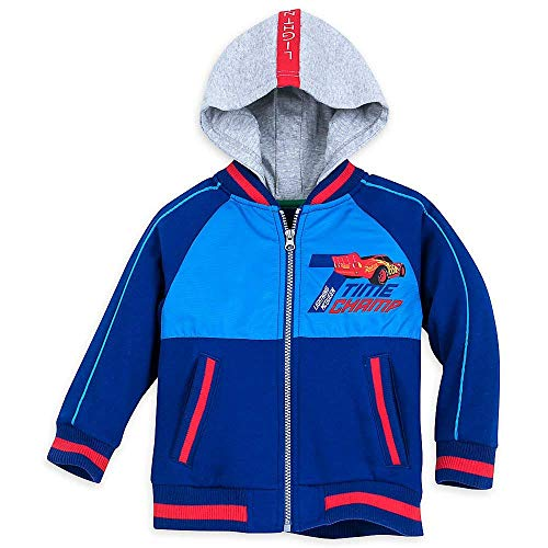 ueen Hooded Varsity Jacket for Boys Size 2 ()