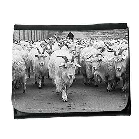 Small Faux Leather Wallet with card slot // M00157768 Sheep