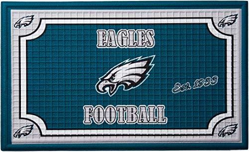 Team Sport Amerika 41em3823b Philadelphia Eagles geprägt Fußmatte -