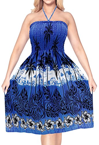 ropa-de-playa-de-cuello-halter-maxi-midi-tubo-de-encubrir-el-vestido-del-traje-de-bao-traje-de-bao-azul-corta-la-parte-superior