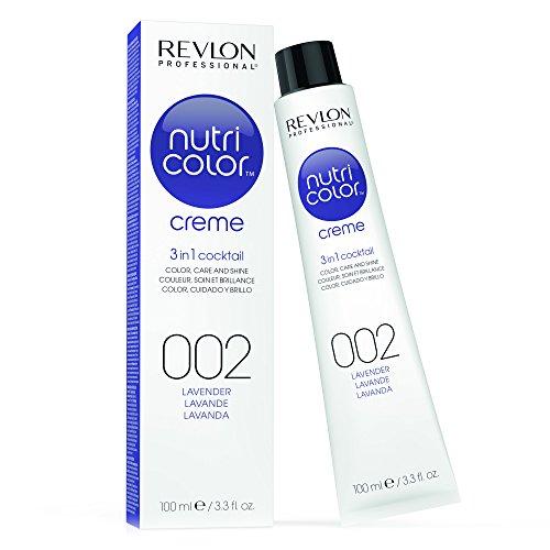 REVLON PROFESSIONAL Nutri Color Crème, Nr. 002 Lavender, 1er Pack (1 x 100 ml) - Lavendel Haar Creme