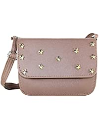 Fargo Focus PU Leather Women's And Girl's Sling Bag (FGO-123)