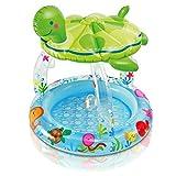 YAN Aufblasbare Badewanne Baby Pool Home Spa Rainbow Sonnenschutz reduzieren UV-Schäden Spa Badewanne Garden & Outdoors Pools (Größe : 102*107CM)