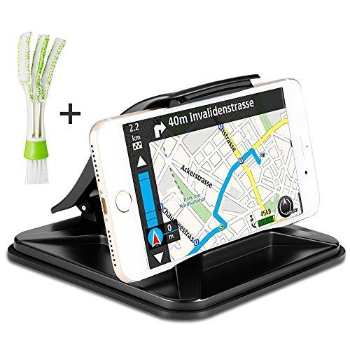 Telefon GPS-Halter für Auto mit Mini Duster, AFUNTA Anti-Rutsch-Armaturenbrett Car Mount Cradle für 3