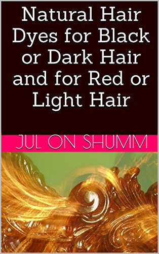 Natural Hair Dyes for Black or Dark Hair and for Red or Light Hair (English Edition)