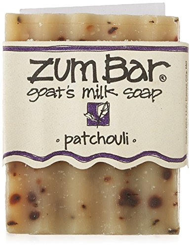 Zum Bar, Goat's Milk Soap, Patchouli, 3 oz Handmade Bar