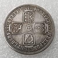 YunBest 1746 Antique United Kingdom Old Coins - Great British Old Coin-UK Old Coin - Uncirculated Commemorative Coins-Best Discover History of Coins BestShop