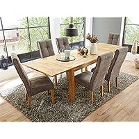 Esstisch Mit 6 Stühlen suchergebnis auf amazon de für tischgruppe 6 stühle möbel