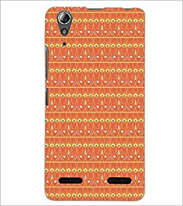 PrintDhaba Pattern D-5214 Back Case Cover for LENOVO A6000 (Multi-Coloured)