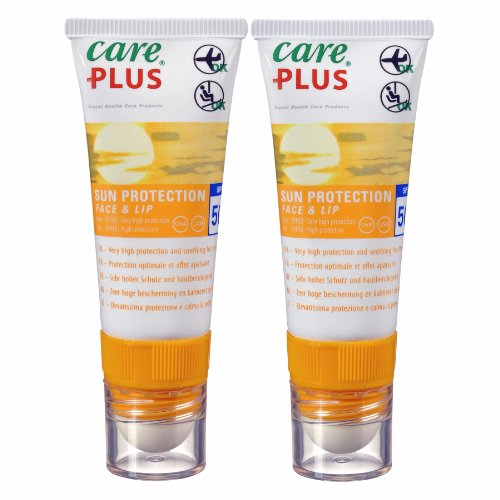 Sun & Ski Sonnencreme und Lippenpflegestift Twin Pack-LSF 50