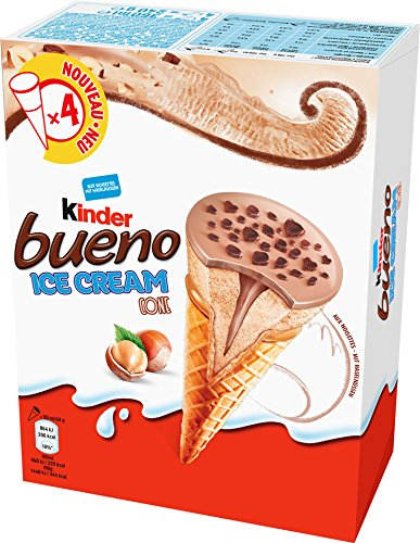 Kinder - TK Bueno Cone Eiscreme - 4x90ml/360ml