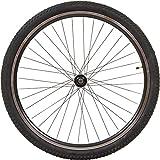 Unbekannt 26 Zoll Zündapp MTB Laufräder Aluminium Hinten Oder Vorne Scheibenbremsen, Ausführung:Hinten