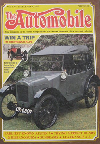 the-automobile-magazine-vol3-no10-12-1985-featuring-vauxhall-hispano-suiza-sunbeam-lea-francis
