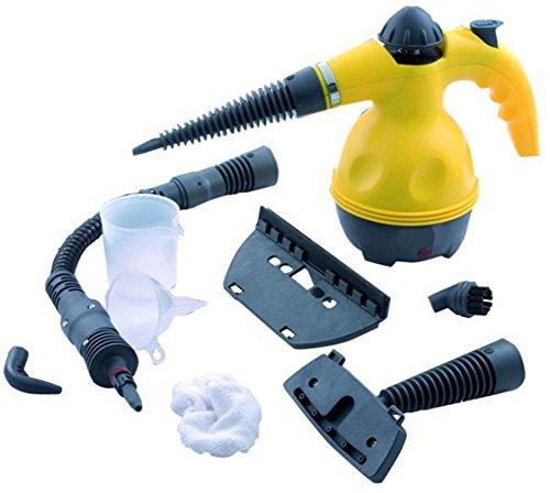 Euronovità Limpiador portátil máquina Limpiador a Vapor eléctrica con 9Accesorios incluidos, Potencia...