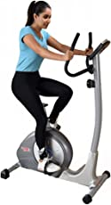 JSB Cardio Max Magnetic Upright Fitness Bike Exercise Cycle