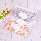 Ranchoman Set Of 2 Reusable Wipes Pouch Bag Case For Baby Woman