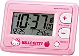 Best HELLO KITTY Alarm Clocks - Hello Kitty R095 pink alarm clock radio clock Review