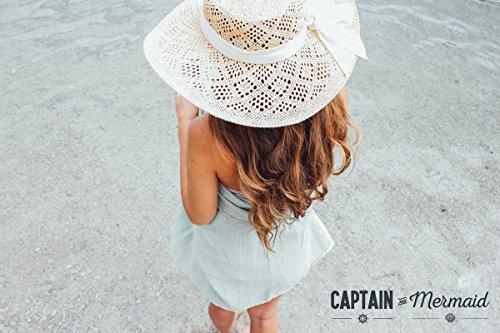 Captain & mermaid® stonewashed telo da mare - anti sabbia - asciugamano in 100% cotone naturale - tessitura speciale - super assorbenza & più morbida
