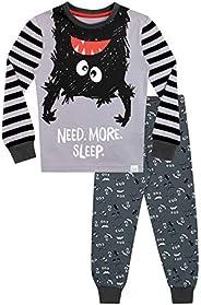 Harry Bear Pijamas de Manga Larga para niños Monstruo Ajuste Ceñido