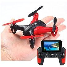 Mini Drone FPV Wltoys Q242G Cámara HD + Emisora con Pantalla LCD + SD 4GB   Iniciación