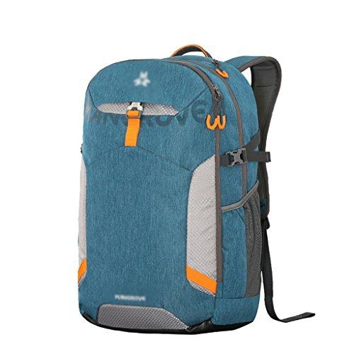 HWLXBB Outdoor Bergsteigen Tasche Männer und Frauen 30L Wasserdichte Mehrzweck-Bergsteigen Tasche Wandern Camping Bergsteigen Freizeit Rucksack Rucksack 2*