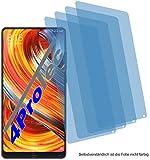 4ProTec 4X Crystal Clear klar Schutzfolie für Xiaomi Mi Mix 2 Special Edition Bildschirmschutzfolie Displayschutzfolie Schutzhülle Bildschirmschutz Bildschirmfolie Folie