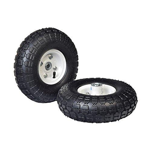 Cart Assembly (Monster Motion 25,4cm Pneumatische Reifen Montage Utility, für Dollies, Wagen & Carts (Set von 2))